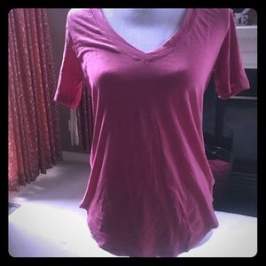 EUC Lululemon Love V-neck Shirt Pink